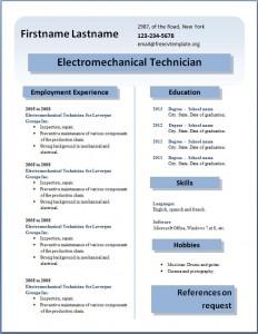 Free CV template #23