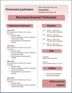 Free CV template #24