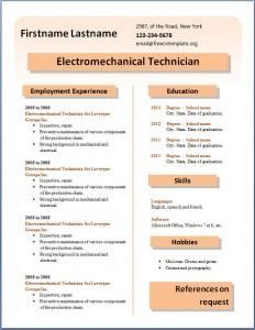 Free CV template #27