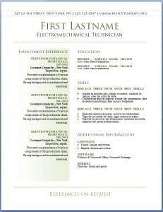 Free resume CV template #39