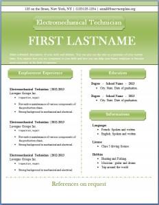 Free CV template #45