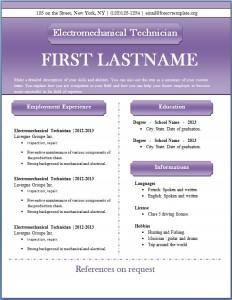 Free CV template #46