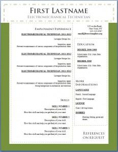 Free cv resume template #103