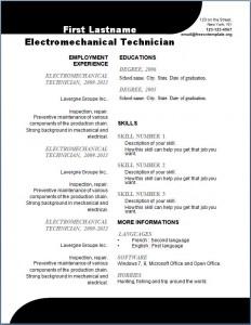 Free CV Template #108