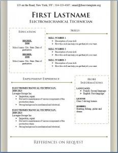 Free CV Template #87