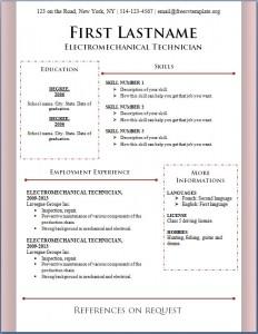 Free CV Template #88