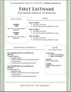 Free CV Template #89