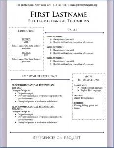 Free CV Template #90