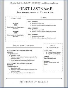 Free CV Template #92
