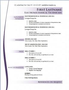 Free cv resume template #168