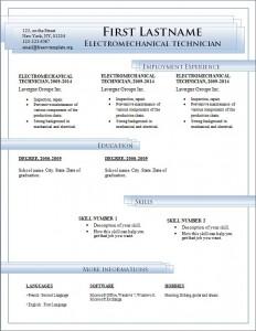 Free cv resume template #184