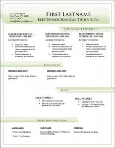 Free cv resume template #186