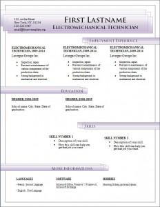 Free cv resume template #187