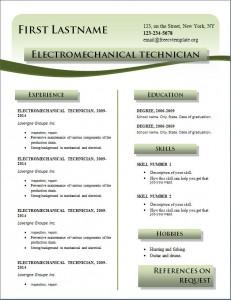 Free cv resume template #215