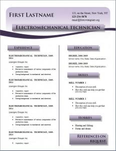 Free cv resume template #216