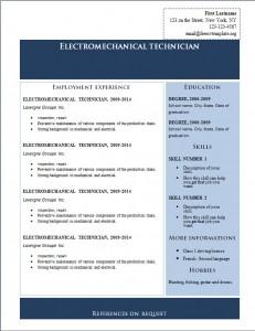 Free cv resume template #219