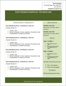 Free cv resume template #222