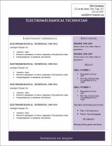 Free cv resume template #223