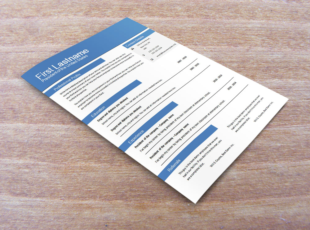 Free cv templates for word (604 to 610)