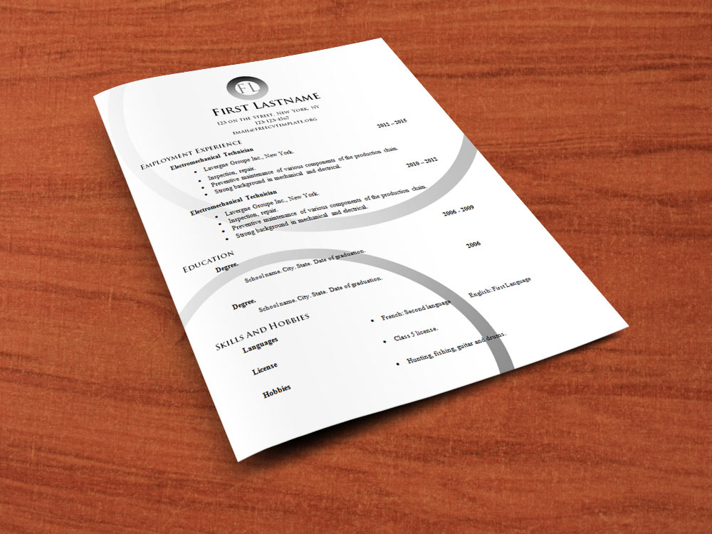 Free cv templates to edit (554 to 560)