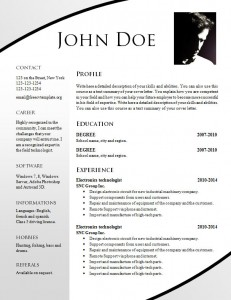 cv_resume_word_template_701
