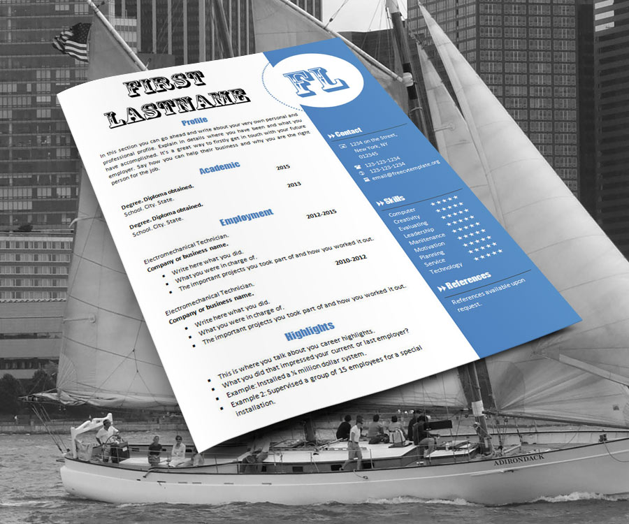 free_cv_resume_template_770_ship