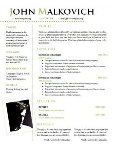 cv_resume_word_template_809