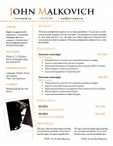 cv_resume_word_template_811