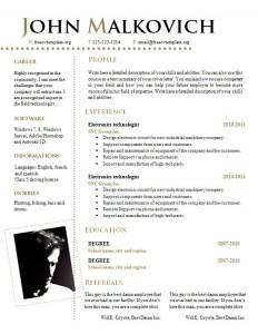 cv_resume_word_template_812