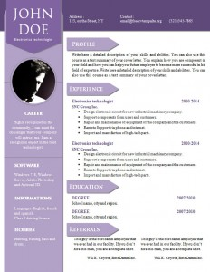 cv_resume_word_template_907
