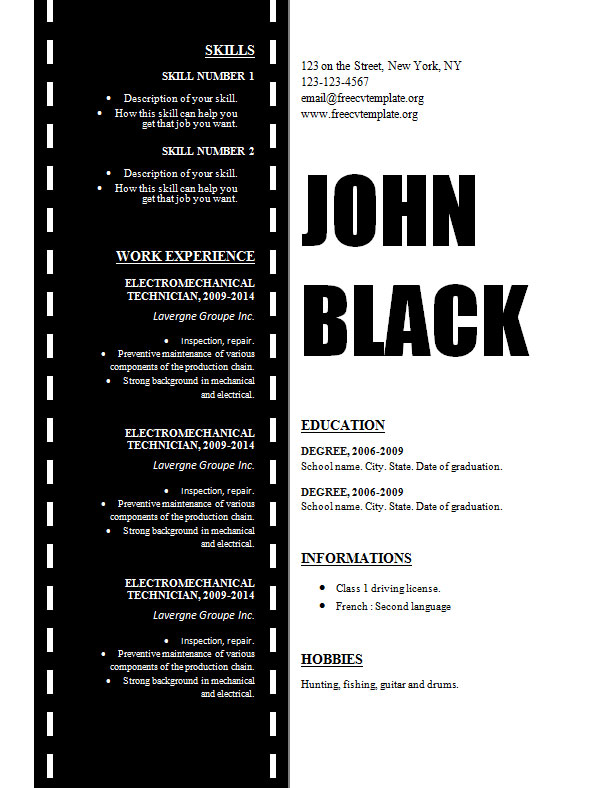 design_resume_template_for_cinema_film_movies_technician