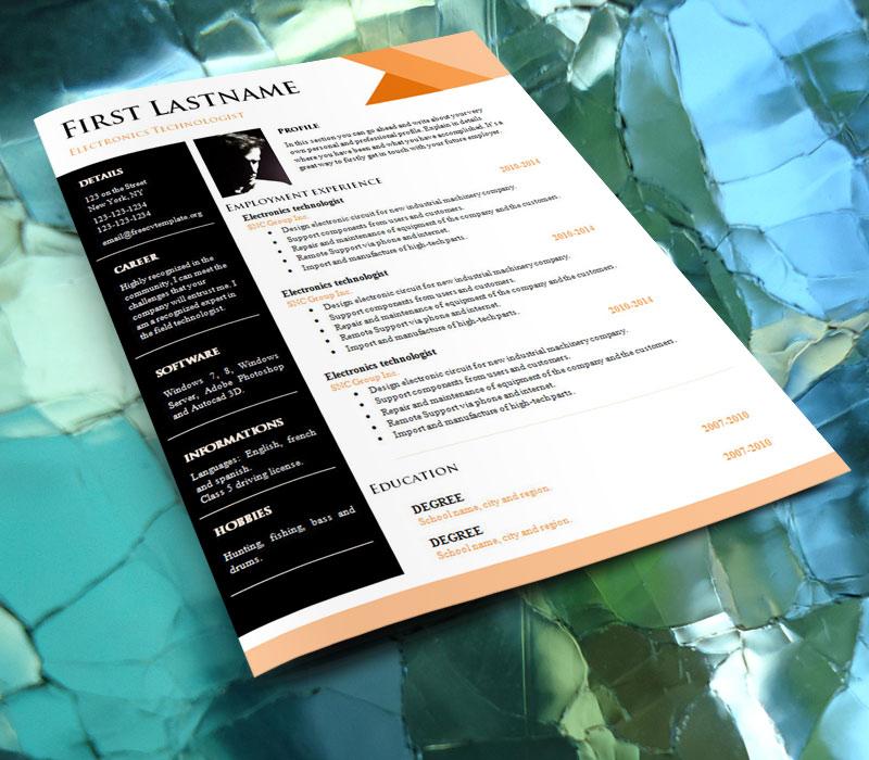 free_cv_resume_template_894_on_glass