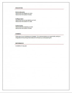 Blank_free_CV_template_1_page2