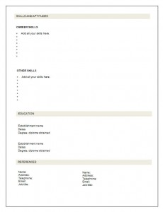 Blank_free_cv_template_4_page2