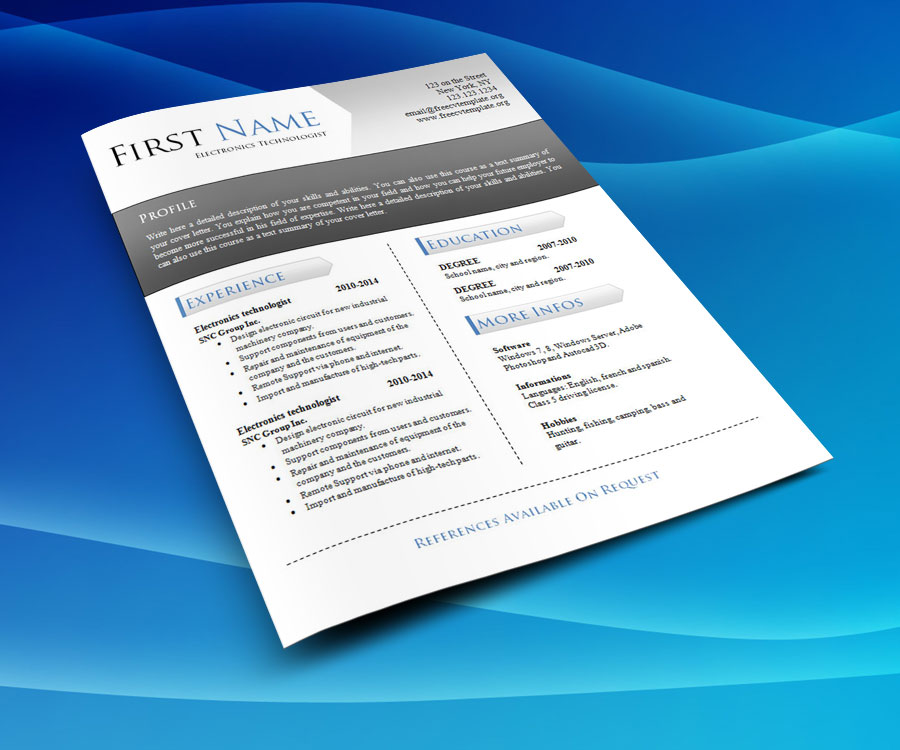 free_cv_resume_word_template_939_cool_background