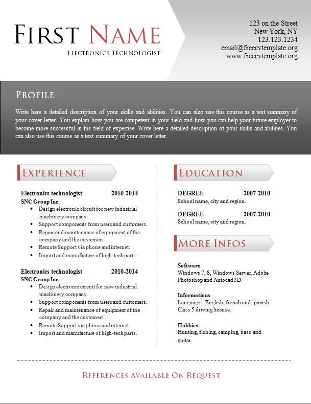 free_cv_resume_word_template_940
