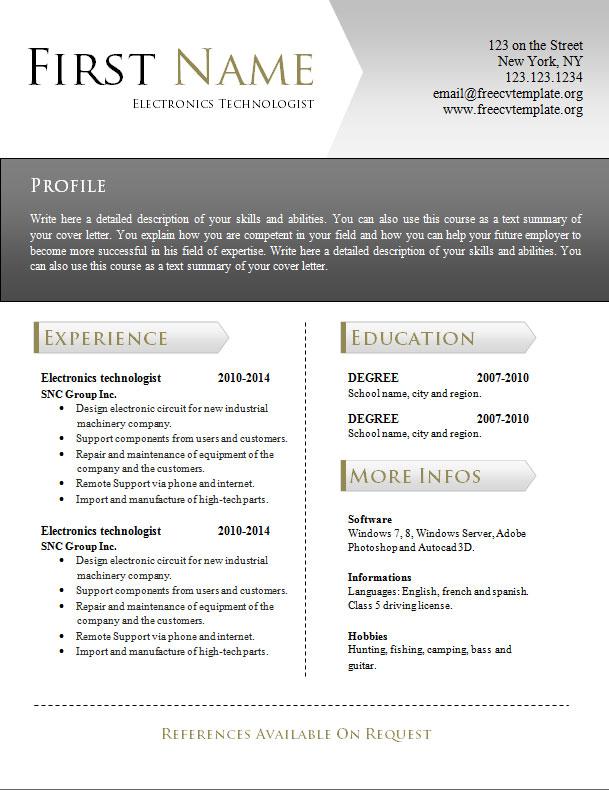 free_cv_resume_word_template_944