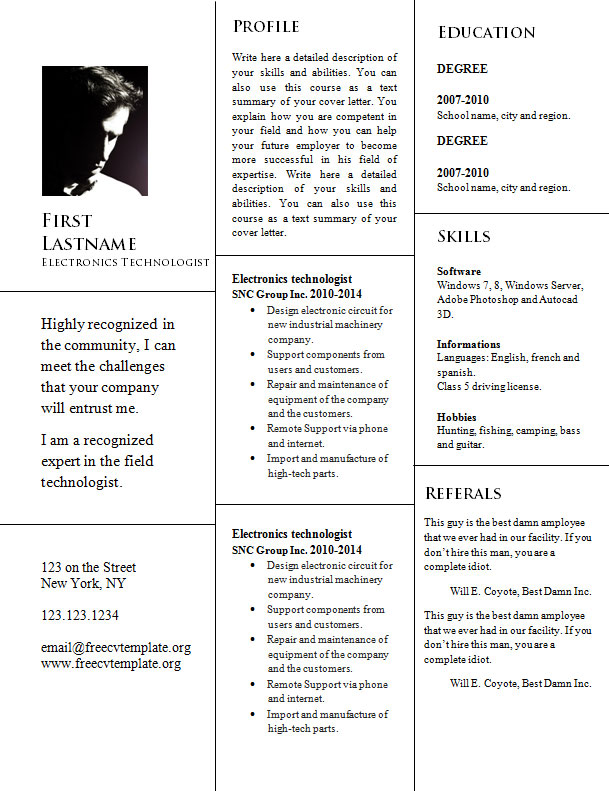 free_resume_template_cv_word_format_946
