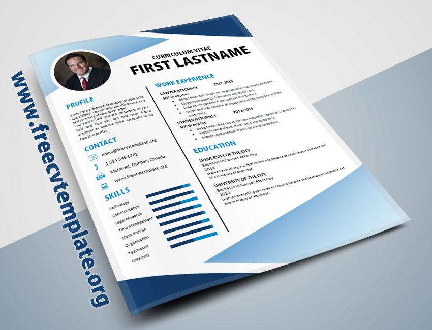 New age cv template