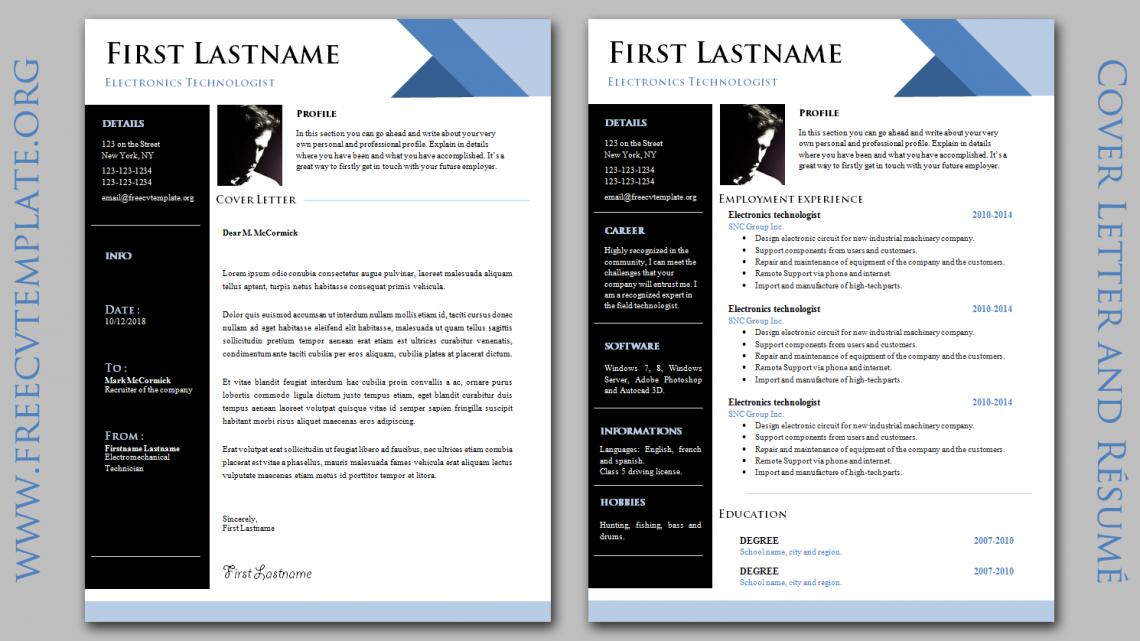 Dynamic CV & Cover Letter
