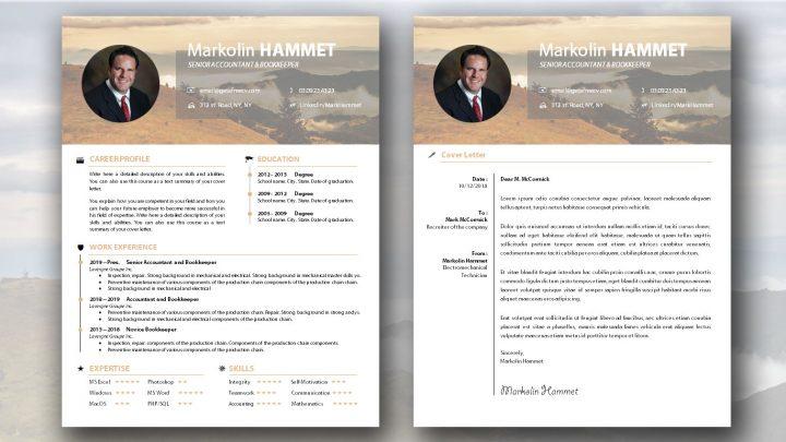 Pretty CV Template