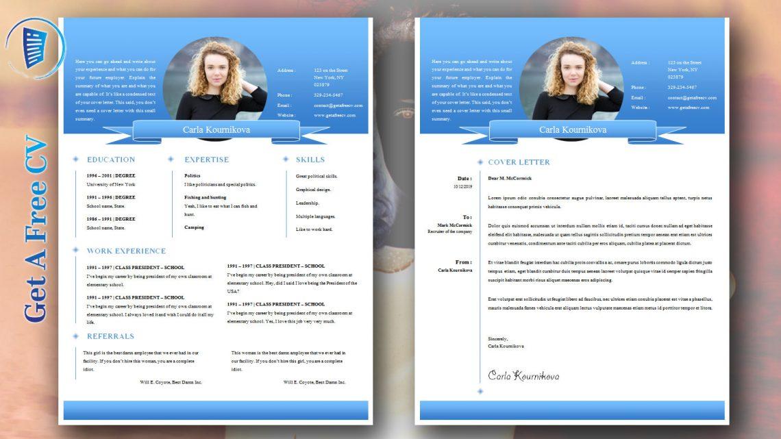 2019 Perfect CV Example