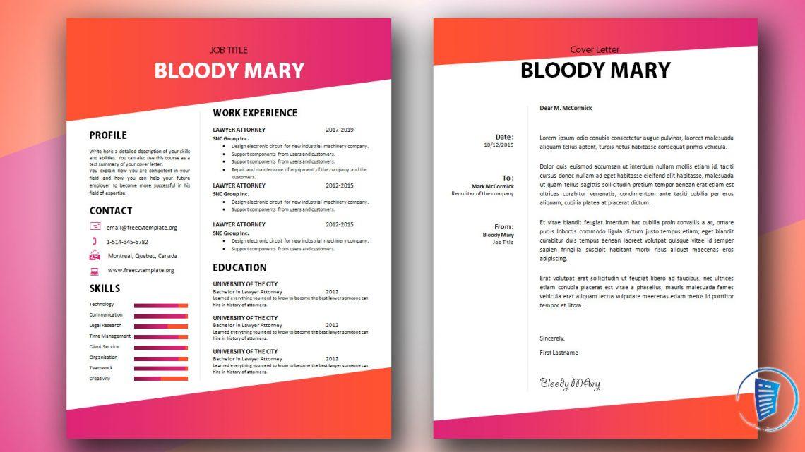 Bloody Mary CV