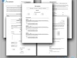 Five Classic CV Templates