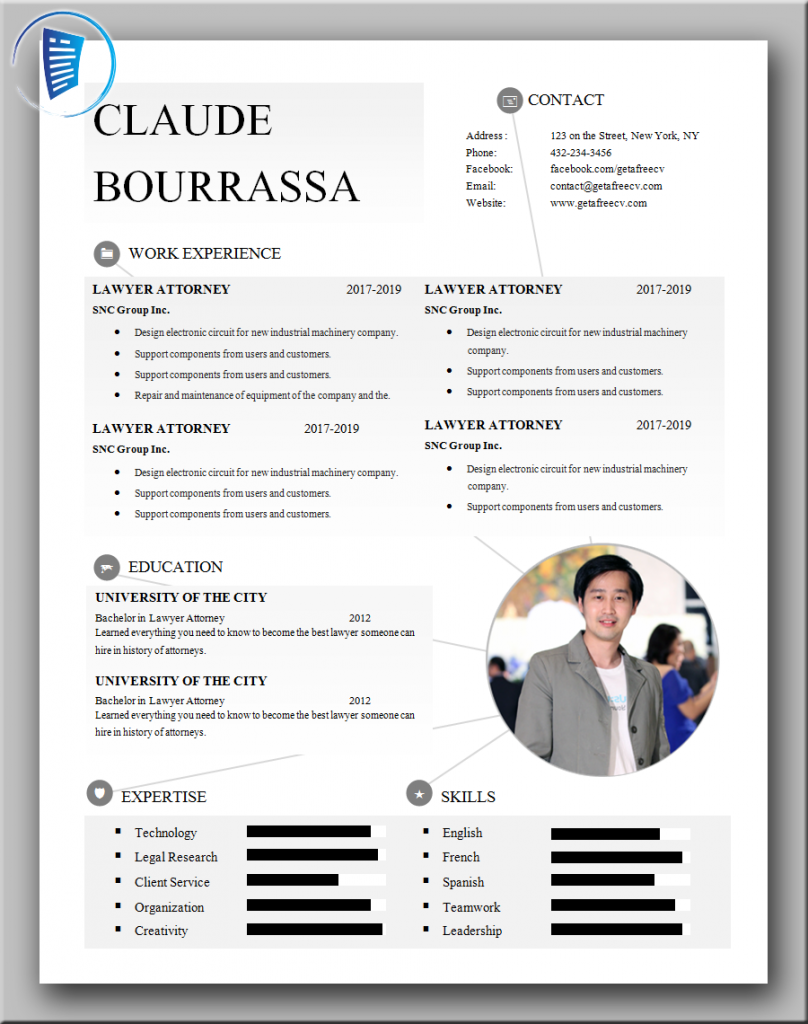 Genuine CV Template
