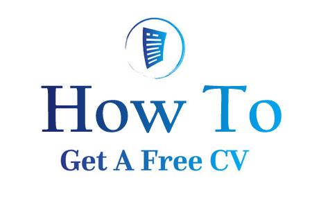 How to Get A Free CV