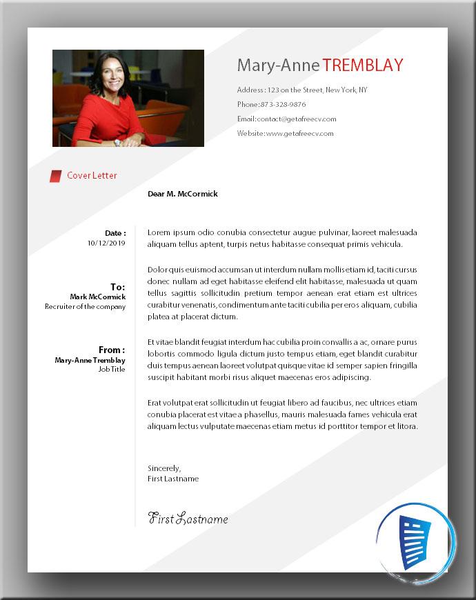 Premium Cover Letter