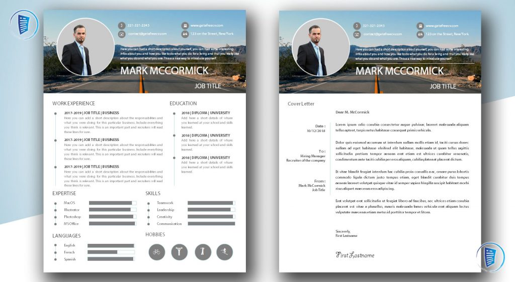Road To Success CV and Cover Letter